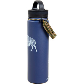 United By Blue Wild & Free Stainless Steel Bottle 650ml navy